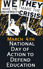 March 4 Day of Action to Defend Public Education