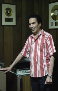Willie Mitchell in Hi Studios